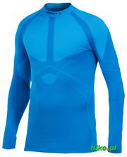 męska koszulka Craft Warm Crewneck niebieska