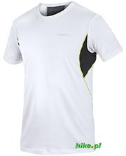męska koszulka Craft Cool Tee with Mesh biała