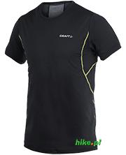 męska koszulka Craft Cool Tee with Mesh czarna