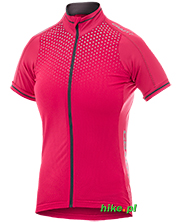 damska koszulka rowerowa Craft Performance Glow Jersey różowa