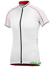 damska koszulka rowerowa Craft Performance Glow Jersey biała