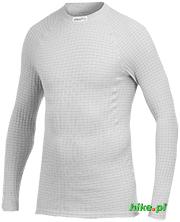 męska koszulka termoaktywna Craft Warm Wool Crew Neck szara