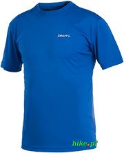męska koszulka Craft Active Run Tee ciemnoniebieski
