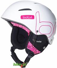kask narciarski / snowboardowy Bolle B-Style Soft White Bandana