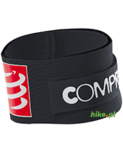 pasek na chip startowy Compressport Timing Chip Strap czarny