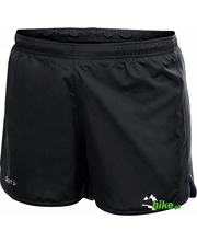 damskie szorty do biegania Craft Active Run Shorts czarne