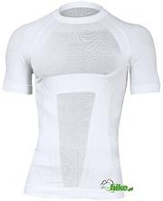 męska koszulka Brubeck Fit Activity biała