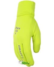 rękawiczki Craft Thermal Grip limonkowe