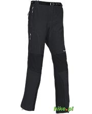 męskie spodnie trekkingowe Milo Dru czarne