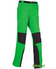 męskie spodnie trekkingowe Milo Dru zielone