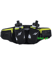 pas biodrowy z bidonami do biegania Rucanor 2 Bottle Run Belt Profi