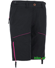 damskie krótkie spodnie Ternua Holey czarne