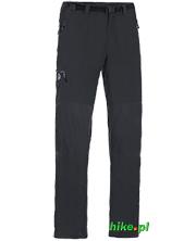 męskie spodnie trekkingowe Ternua Kelso czarne