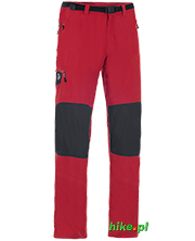 męskie spodnie trekkingowe Ternua Kelso czerwone
