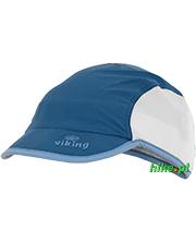 lekka czapka z daszkiem Viking Jork niebieska