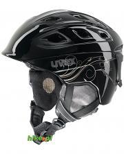 damski kask narciarski Uvex Funrise 2 Lady czarny