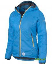 damska kurtka zimowa Milo Kone niebieska