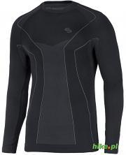 męska koszulka termoaktywna Brubeck Thermo czarna
