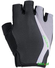 rękawiczki rowerowe Ziener Chipio czarno-szare